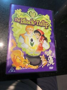 The-Black-Tulip-region-4-DVD-classic-1988-animation-VERY-RARE