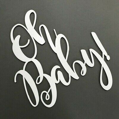 Baby shower Baby SURNAME ANY NAME Wooden sign Plaque Flower Wall