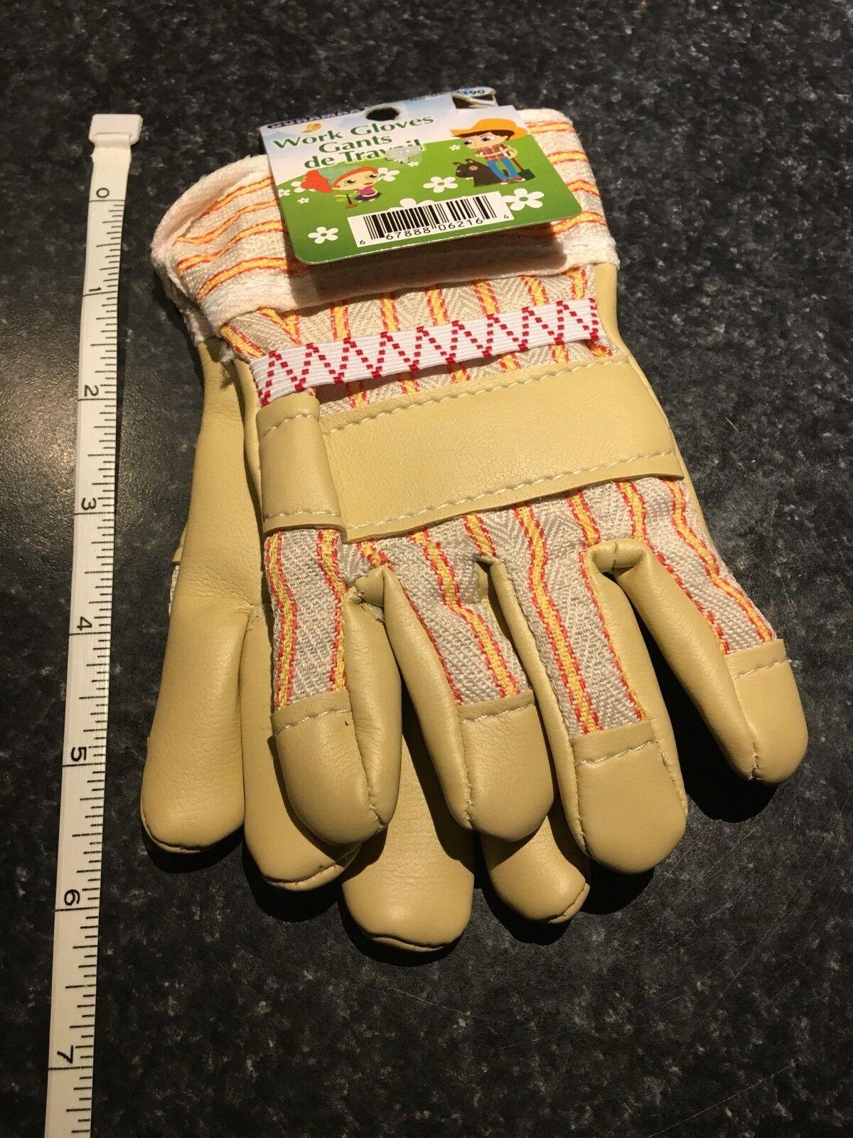 Children's Kids Work Or Garden Gloves For Little Helpers 5
