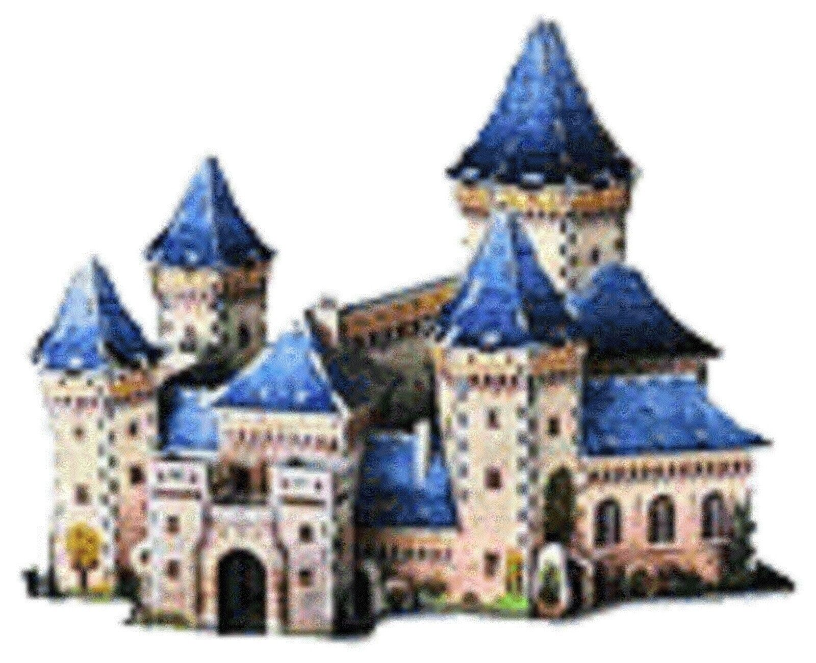 Wrebbit Puzz 3D Puzzle Foam - Medieval Castle - New Sealed Collectible