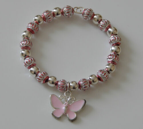 BRACELET WITH NOVELTY CHARM  CHILDS  ADULT SIZE IDEAL PARTY BAG STOCKING FILLER