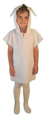 SHEEP LAMB COSTUME GIRLS BOYS CHILDS CHILDRENS NATIVITY FANCY DRESS COSTUME PLAY