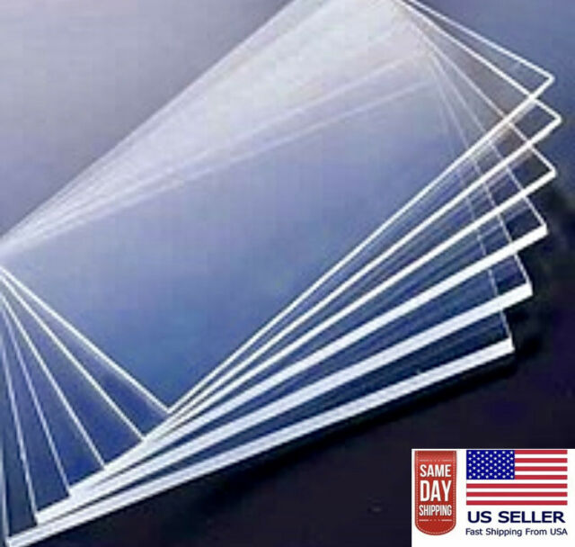 "1//4/""  x 24/"" x 48/"" Lexan Makrolon Polycarbonate Sheet  Clear  0.250"""