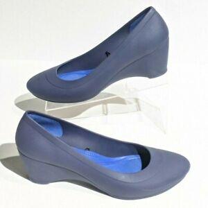 Crocs Lina Wedge Pump Heels Women's
