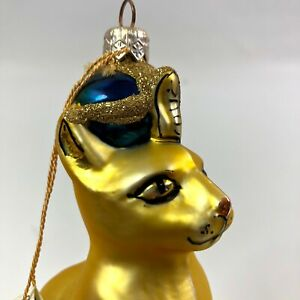 Kurt-Adler-Polonaise-Collection-Eygptian-Cat-Christmas-Ornament-Komozja