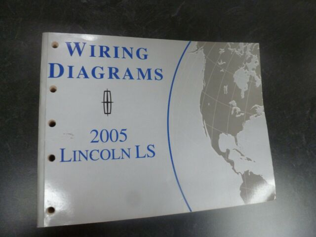 2005 Lincoln Ls Sedan Electrical Wiring Diagrams Manual 3