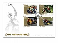 Isle of Man Official TT Races Winners First Day Cover (VI91)