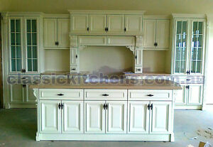 Provincial style kitchen traditional hampton federation for Federation kitchen designs