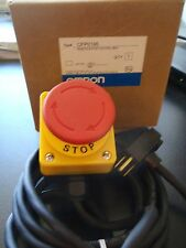 Omron Cfp0196 Remote E Stop Switch Control Box 22mm Red New In Box