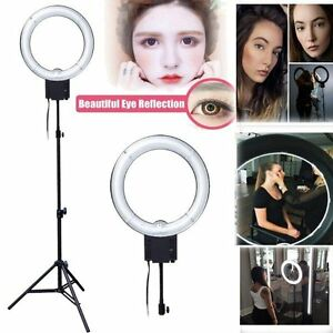 Studio-Pro-40W-5400K-Daylight-Fluorescent-Ring-Lamp-Light-w-90cm-Stand-100-120V