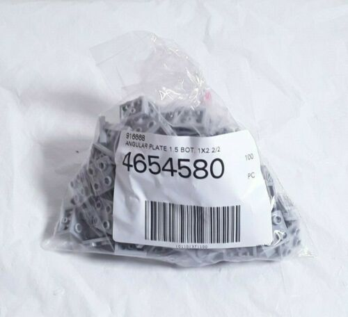 Genuine NEW Lego Part Parts 4654580 99207 Gray bracket inverted 2x2 x100 pc
