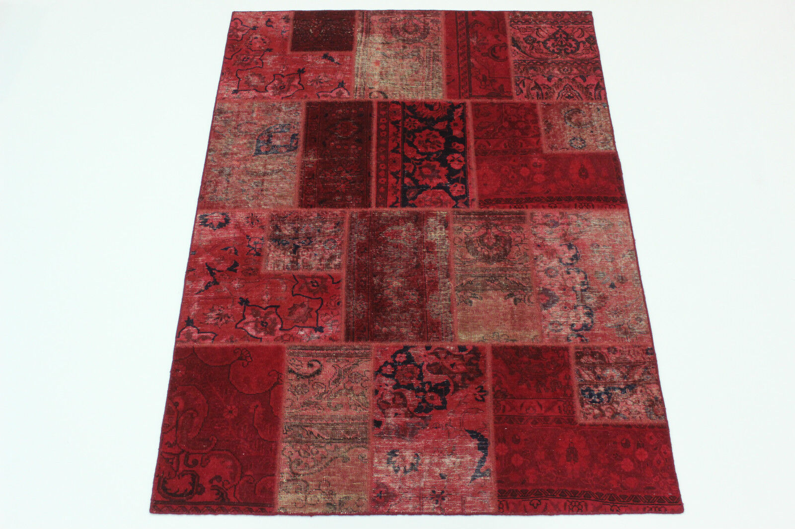 Moderno Patchwork Stone Wash Used Look % Persa Alfombra Oriental 2,40 X