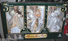 1999 Holiday Creations Musical Angel Trio 3 Angels 3 Speakers - Favorite Carols