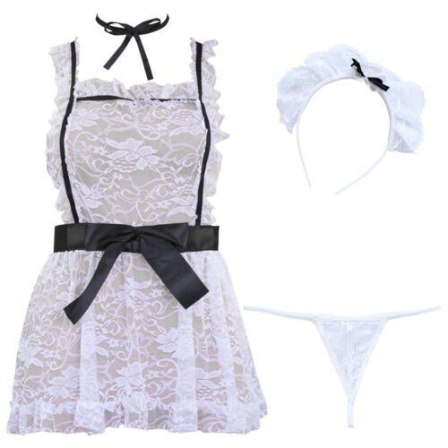 US Women School Girls Uniform Plaid Mini Skirt Top Cosplay Costumes Outfits Set