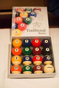 New Elephant Traditional Series Pool Ball Set - Billiard & Bar Table Pool Balls