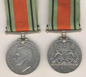 """055 /""""The Defence Medal/"""" 1939//1945 Giorgio VI°"""
