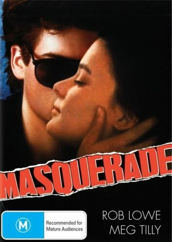 1 of 1 - MASQUERADE Rob Lowe, Meg Tilly, Kim Catrall DVD NEW