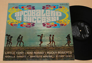 LITTLE-TONY-ROCKY-ROBERTS-LP-1-PRESS-ITALY-1968-EX