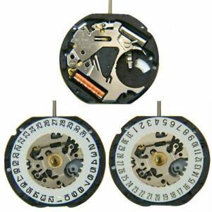 Japanese-VX12E-Quartz-Movement-Date-At-3-039-6-039-3-Pin-Watch-Replacement-Battery