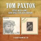 Peace Will Come/New Songs for Old Friends by Tom Paxton (CD, Aug-2015, Morello Records)