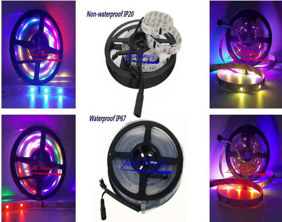 5 M 6803 5050 30LED M 150LED Rgb Dream Color blancoo Tira de Luz LED PCB IP20 IP67