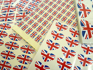 British-Union-Jack-Flag-Stickers-Great-Britain-Labels-Various-Shapes-Sizes