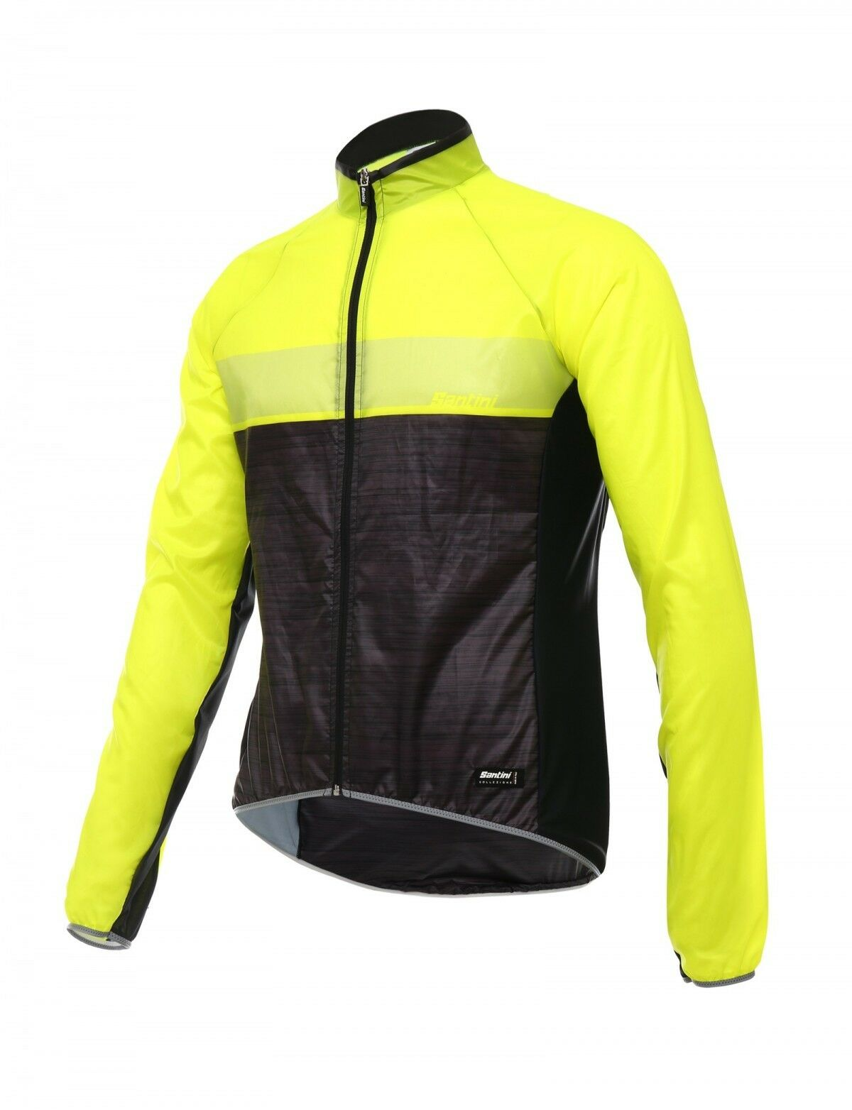 SMS SANTINI 365 SKIN WINDBREAKER . Gelb FLUO. SIZE MEDIUM. BRAND NEW WITH TAGS