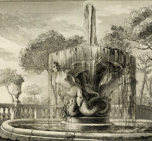 Fontaine-Sirene-Mermaid-Doria-Pamphilj-Architecture-Rome-Lorenzo-Bernini-Roma