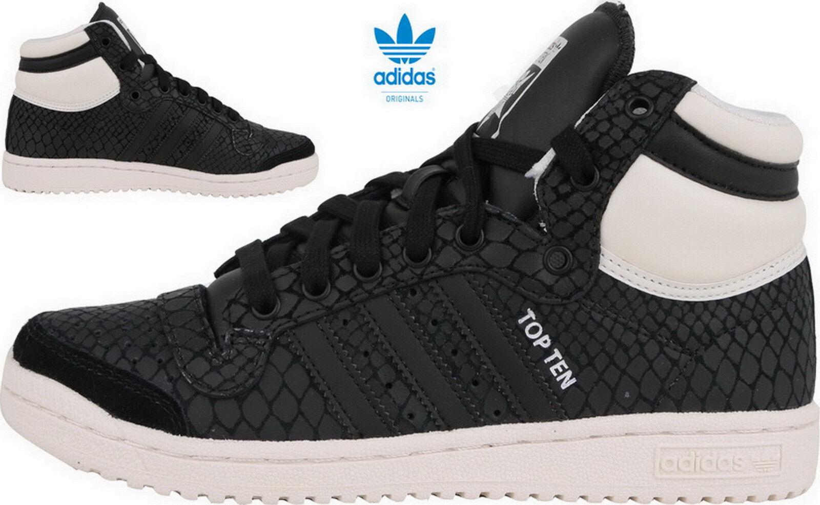 Adidas Originals Top Ten Hi W Originals Adidas Damen Sneaker Turnschuhe Schwarz S75135 da02bf
