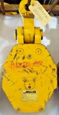 Miller High Lift Block 212l3030 Tondouble Sheave34 Wire Ropelifting Eye 2