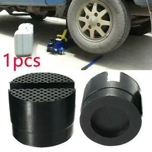1pcs Car Universal Slotted Frame Rail Floor Jack Guard Adapter Lift Rubber Pad #