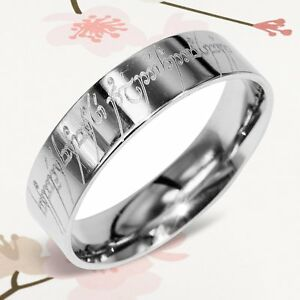 image is loading custom lord of the rings elvish flat men - Lord Of The Rings Wedding Rings