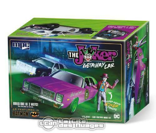 Batman Jokers Getaway Car 1978 Dodge Monaco Modelkit 1 25 With Resin Joker Fig