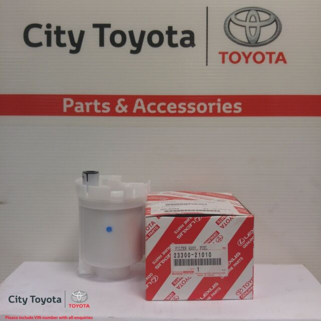 New Toyota Genuine Fuel Filter Multiple Models 2/00-8/07 2330021010