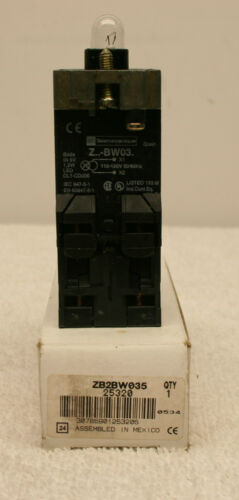 Telemecanique ZB2BW035 Light Switch Module **New in Box**