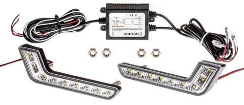 certificazione e 2x qualità Top L-forma luce diurna 6000k Bianco 09 modulo r87