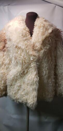 Aladka Arctic Fur Curly Lamb Jacket