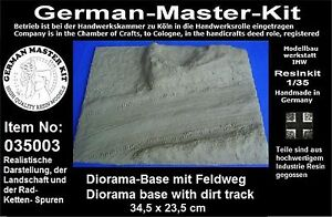 035003-Resin-Kit-Dio-Base-1-35-Diorama-Zubehoer-GMK-World-War-II