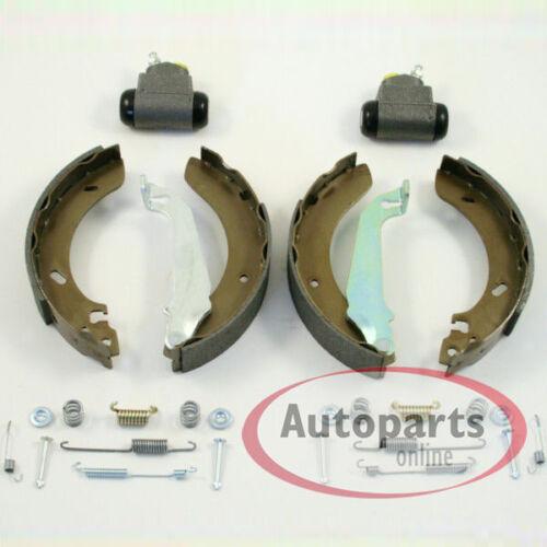 Bremsen Kit Bremsbacken Radbremszylinder Zubehör für hinten Opel Corsa C