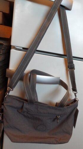 Medium Ny Tags skulderveske Grey Kipling stropp Audie med 5400552910256 Urban avtakbar OzqfR75TRc