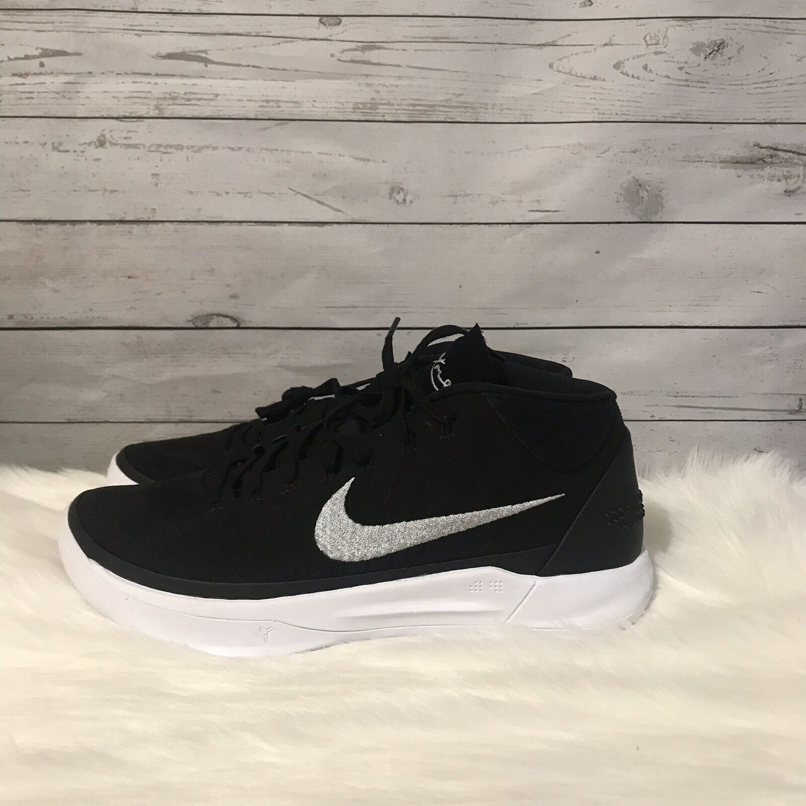New Nike Kobe AD Mid TB Promo Mens Size 10.5 Basketball shoes Black