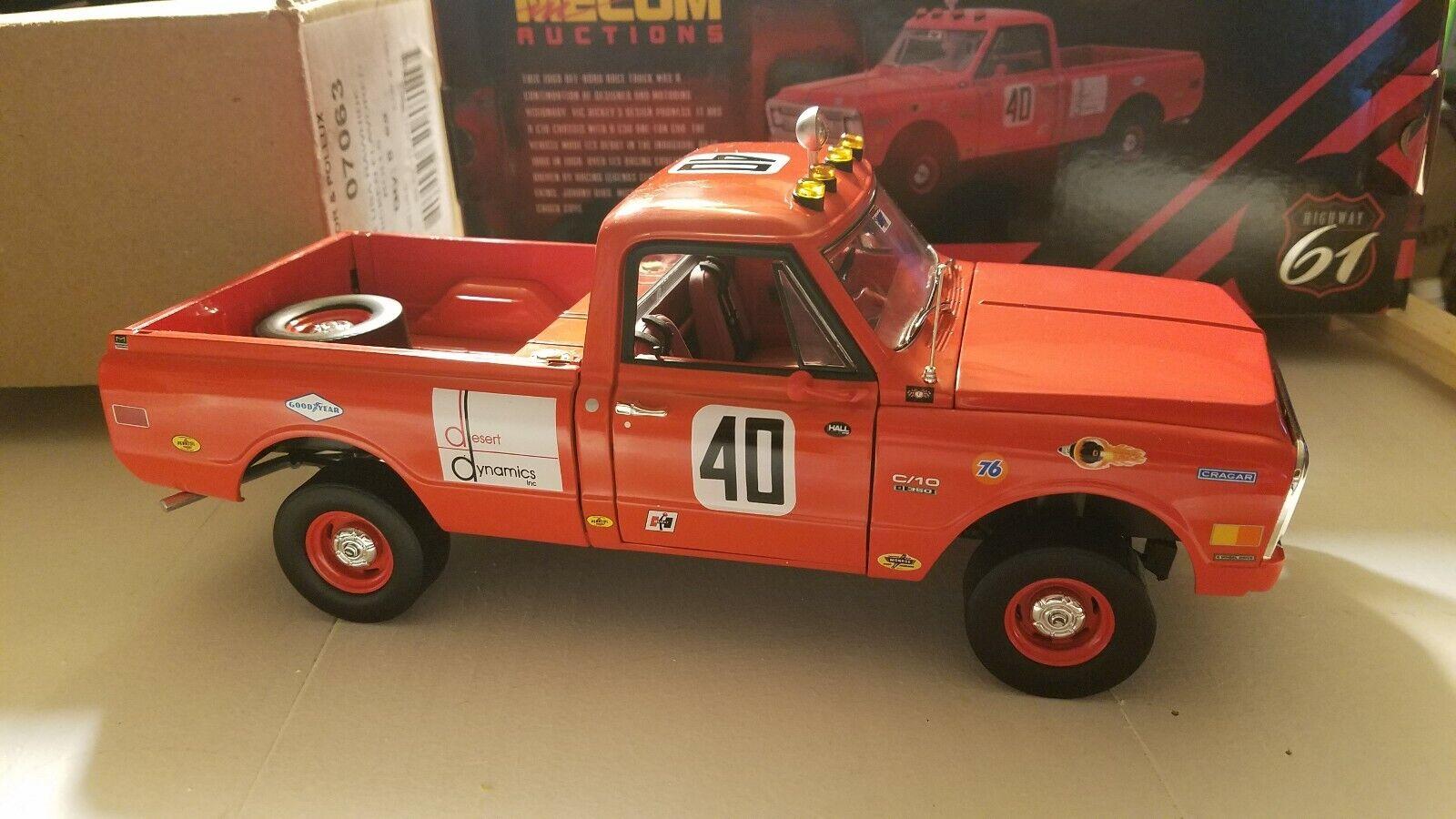 Highway 61 Steve McQueen 69 Chevy C10 Baja Mecum Auction