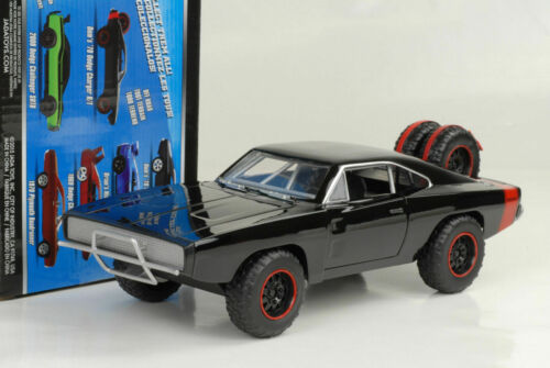 Doms Dodge Charger R//T Offroad Fast and Furious 7 black schwarz 1:24 Jada