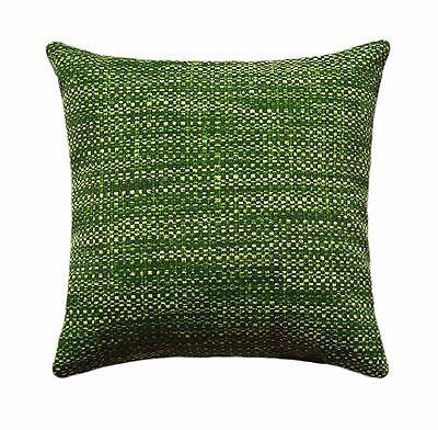 "20"" Green Outdoor Pillow, Richloom Remi Palm Green Outdoor Accent Throw Pillow"