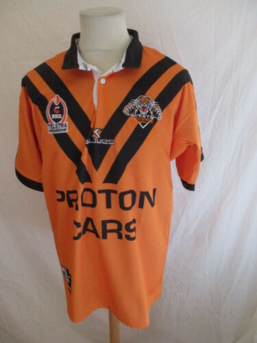 Vintage Rare Rugby Maillot De N De Xiii Tigres West 7I1fIrxw