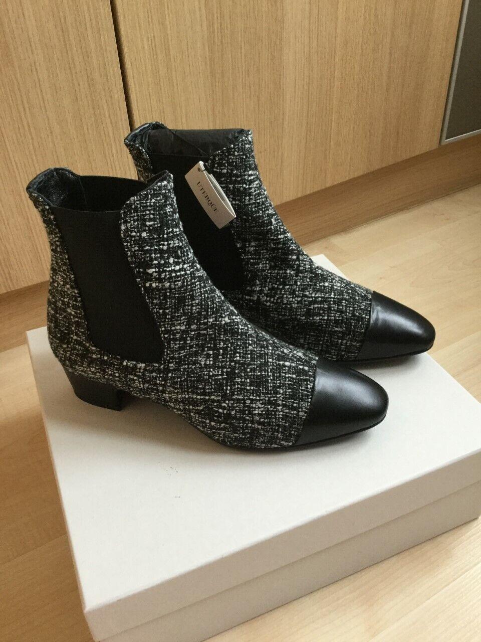 UTERQUE Laine chaussures en cuir