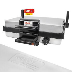 Silex-Multigrill-Kontaktgrill-Tisch-Grill-100-Original-2019-Silber-NEU