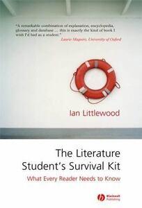 Littlewood-Literature-Students-Survival-Kit-UK-IMPORT-BOOK-NEW