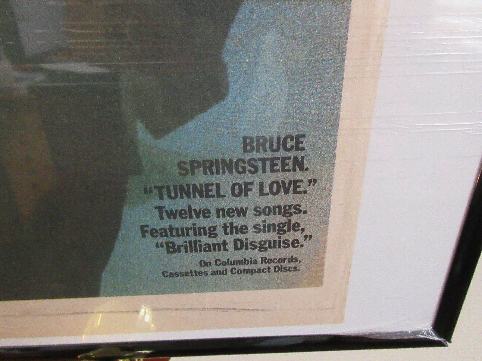 Bruce Springsteen Tunnel of Love ,USA Today,Newspaper C