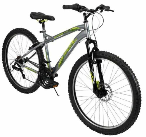 Huffy-26-034-Men-039-s-Mountain-Bike-Extent-with-Front-Disc-Brakes-Same-Day-Shipping